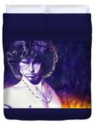 Jim Morrison Duvet Cover