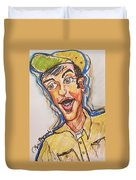 Jim Nabors Duvet Cover
