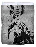 Jimi Hendrix Pop Star  Duvet Cover