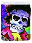 Jimi Hendrix, Soloing Duvet Cover