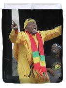 Jimmy Cliff Painting Duvet Cover
