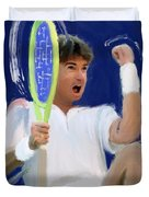 Jimmy Connors Duvet Cover