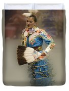 Pow Wow Jingle Dancer 7 Duvet Cover
