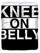 Jiu Jitsu Bjj Knee On Belly Light Duvet Cover