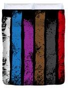 Jiu Jitsu Design United Belts Of Jiu Jitsu Vertical Light Martial Arts Duvet Cover