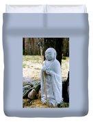 Jizo Bodhisattva - Children's Protector Duvet Cover