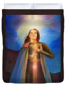 Joan Of Arc  Duvet Cover