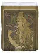 Job, 1896 Duvet Cover