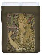 Job Vintage Poster Duvet Cover