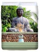Jodo Mission Lahaina 9 Duvet Cover