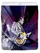 Joe Bonamassa Blues Guitarist Art Duvet Cover