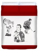 Joe Sakic Duvet Cover