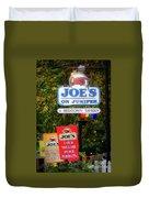 Joe's On Juniper Duvet Cover