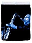John Coltrane Duvet Cover