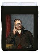 John Dalton - To License For Professional Use Visit Granger.com Duvet Cover