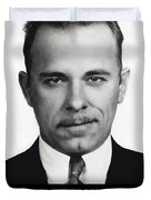 John Dillinger -- Public Enemy No. 1 Duvet Cover