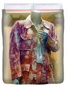 John Entwistle's Tie Died Suede Suit Duvet Cover