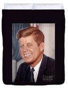 John F. Kennedy Duvet Cover
