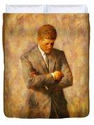 John Fitzgerald Kennedy Duvet Cover