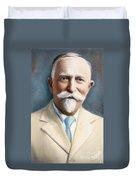 John H. Kellogg, 1852-1943 Duvet Cover