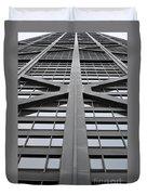 John Hancock Building Duvet Cover