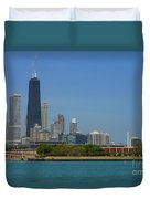John Hancock Center Chicago Duvet Cover
