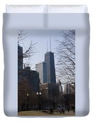 John Hancock Center II Duvet Cover