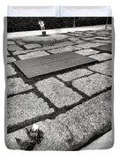 John Kennedy Gravesite Duvet Cover