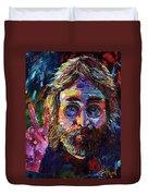 John Lennon Peace Duvet Cover