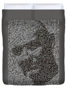 John Locke Dharma Button Mosaic Duvet Cover