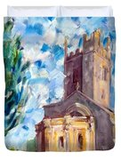 John Piper's Jewel - Sunningwell Church Duvet Cover