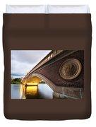 John Weeks Bridge Charles River Harvard Square Cambridge Ma Duvet Cover