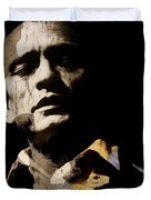 Johnny Cash - I Walk The Line  Duvet Cover