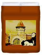 Johnny Sings The Blues Duvet Cover