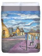 Johnshaven Scotland Duvet Cover
