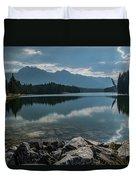 Johnson Lake Duvet Cover
