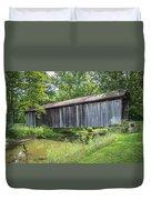 Johnson's Mill/salt Creek Covered Bridge  Duvet Cover