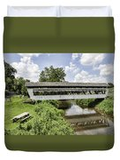 Johnston Covered Bridge Duvet Cover