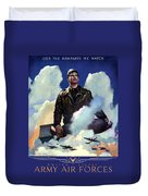 Join The Army Air Forces Duvet Cover