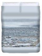 Jokulsarlon, Iceland Duvet Cover
