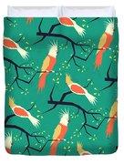 Jolly Bird Pattern Duvet Cover