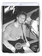 Jon Bon Jovi Acoustic Duvet Cover