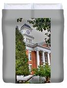 Jonesborough Courthouse Tennessee Duvet Cover