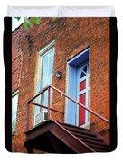 Jonesborough Tenessee - Upstairs Neighbors Duvet Cover