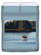 Jonespot, Maine  Duvet Cover