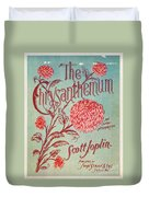 Joplin: Chrysanthemum Duvet Cover