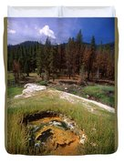 Jordan Hot Springs Duvet Cover
