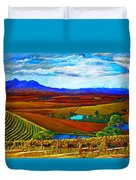 Jordan Vineyard Duvet Cover