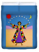 Joseph And His Coat Of Many Colours Duvet Cover