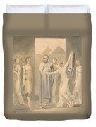 Joseph And Potiphar's Wife Duvet Cover